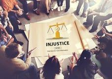 Gesetzesurteil-Rechte, die Rechtsauffassung wiegen Lizenzfreie Stockbilder