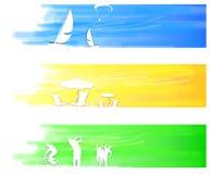 Gesetzte Farbe der Reise Lizenzfreie Stockbilder