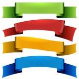 Gesetzte Isolatseidenbänder Vektor Abbildung
