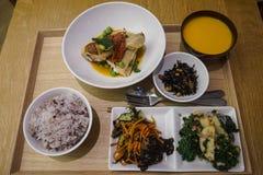 Gesetzte Mahlzeit des Japaners lizenzfreie stockfotos