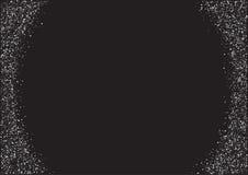 Gesetzte silberne Fahne des Vektors auf weißem Hintergrund Silber- und Platinkarte für Beleg, Flieger, Netz, vip, Zertifikat, Ges Stockbild