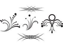 Gesetzte Stammes- Tätowierung Stockbilder