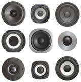 Gesetzter akustischer Lautsprecher lizenzfreie stockfotografie