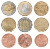 Gesetzter Euro der Sammlung Lizenzfreie Stockfotos