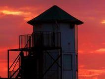 Gesetzter Turm Sun Lizenzfreie Stockbilder