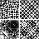 Gesetztes nahtloses geometrisches Muster Stockfoto