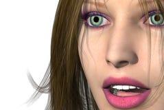 Gesicht Stockfoto