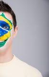 Gesicht Art markierungsfahnen Lizenzfreies Stockfoto