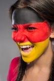 Gesicht Art markierungsfahnen Stockfotos