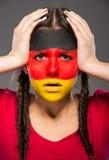 Gesicht Art markierungsfahnen Lizenzfreie Stockfotografie