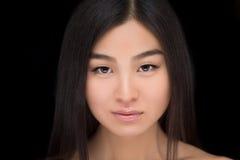 Gesicht asiatischer Dame Lizenzfreie Stockfotos