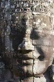 Gesicht am Bayon Tempel, Angkor Stockbild
