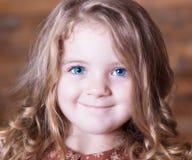Gesicht, blaue Augen! Stockfotografie