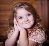 Gesicht, blaue Augen! Lizenzfreies Stockfoto