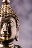 Gesicht der Buddha-Statue Stockfotografie