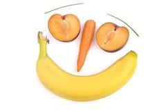 Gesicht der Früchte stockfotos