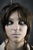 Gesicht der Frau Stockfoto