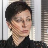 Gesicht der Frau Stockfotografie