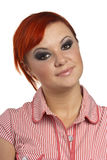 Gesicht der jungen Frau Lizenzfreies Stockfoto