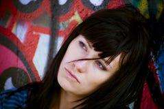 Gesicht der schönen Frau lizenzfreie stockfotos