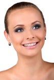 Gesicht der schönen Frau Lizenzfreies Stockfoto