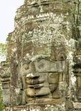 Gesicht des Bayon Tempels, Angkor Wat, Kambodscha Lizenzfreie Stockbilder