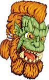 Gesicht des Butzkopfs Lizenzfreie Stockbilder