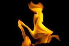 Gesicht des Feuers Lizenzfreie Stockfotografie