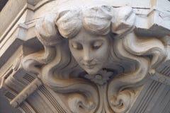 Gesicht des Hauses Stockbild
