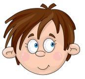 Gesicht des Jungen Stockbild