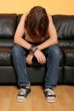 Gesicht des jungen Mädchens Lizenzfreie Stockfotos