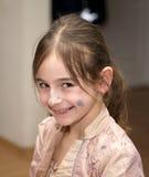Gesicht des jungen Mädchens Lizenzfreie Stockfotografie