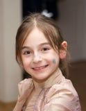 Gesicht des jungen Mädchens Stockfotos
