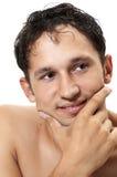 Gesicht des stattlichen Mannes Lizenzfreies Stockfoto