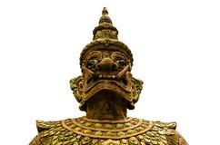 Gesicht des thailändischen Riesen Lizenzfreies Stockbild