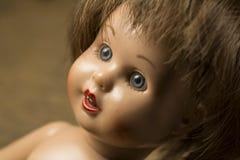 Gesicht einer Puppe lizenzfreies stockbild