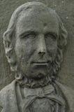 Gesicht eines englischen Lords des 18. Jahrhunderts lizenzfreies stockbild