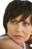 Gesicht eines jungen Mädchens Lizenzfreies Stockbild
