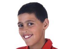 Gesicht eines lächelnden Kindes lizenzfreie stockbilder