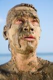 Gesicht eines Mannes Lizenzfreies Stockbild