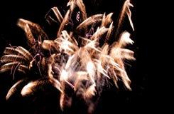 Gesicht im Feuerwerk - virtuell!? stockfotos