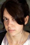 Gesicht mit Freckles Lizenzfreies Stockbild