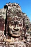 Gesicht von Angkor Wat Stockfotos
