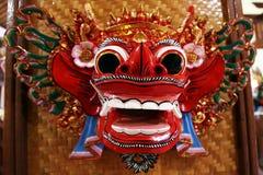 Gesicht von Barong Stockfoto
