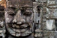 Gesicht von Buddha Stockbild