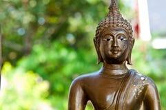 Gesicht von Buddha am Tempel Lizenzfreies Stockbild
