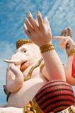 Gesicht von ganesha Stockfoto