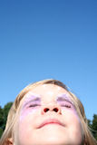 Gesicht zum Sun Lizenzfreie Stockbilder