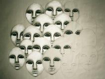 Gesichter Lizenzfreies Stockbild