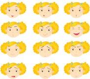 Gesichter Lizenzfreie Stockbilder